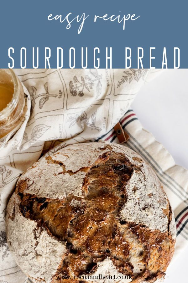 Quick Sourdough Bread without a Starter - recipe