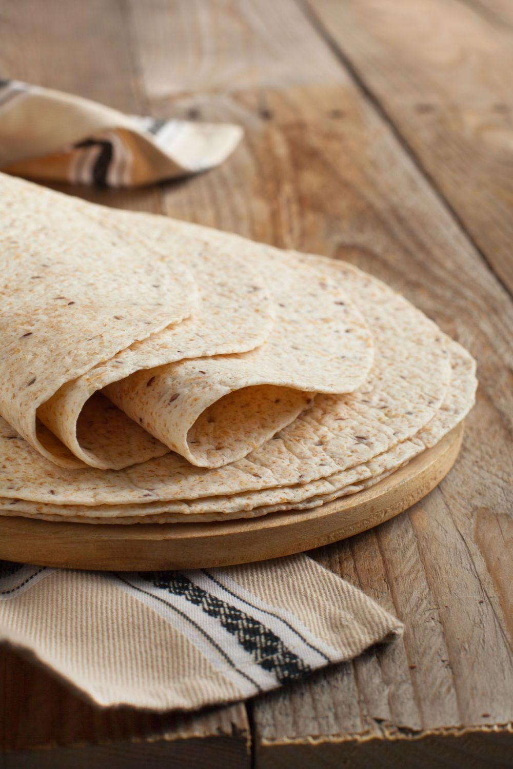 Tortilla Flat Bread Recipe