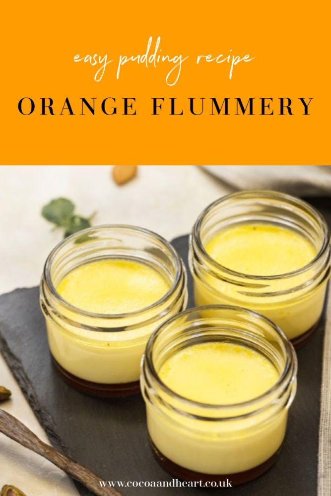 Orange Flummery Pudding Recipe