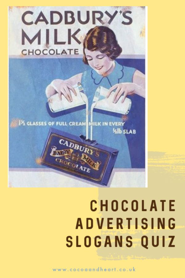 Chocolate Advertising Slogans Quiz (with Answers)