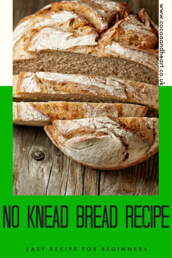 How to bake a no knead bread without a dutch oven