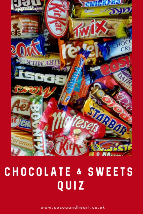 Chocolate & Sweets Quiz