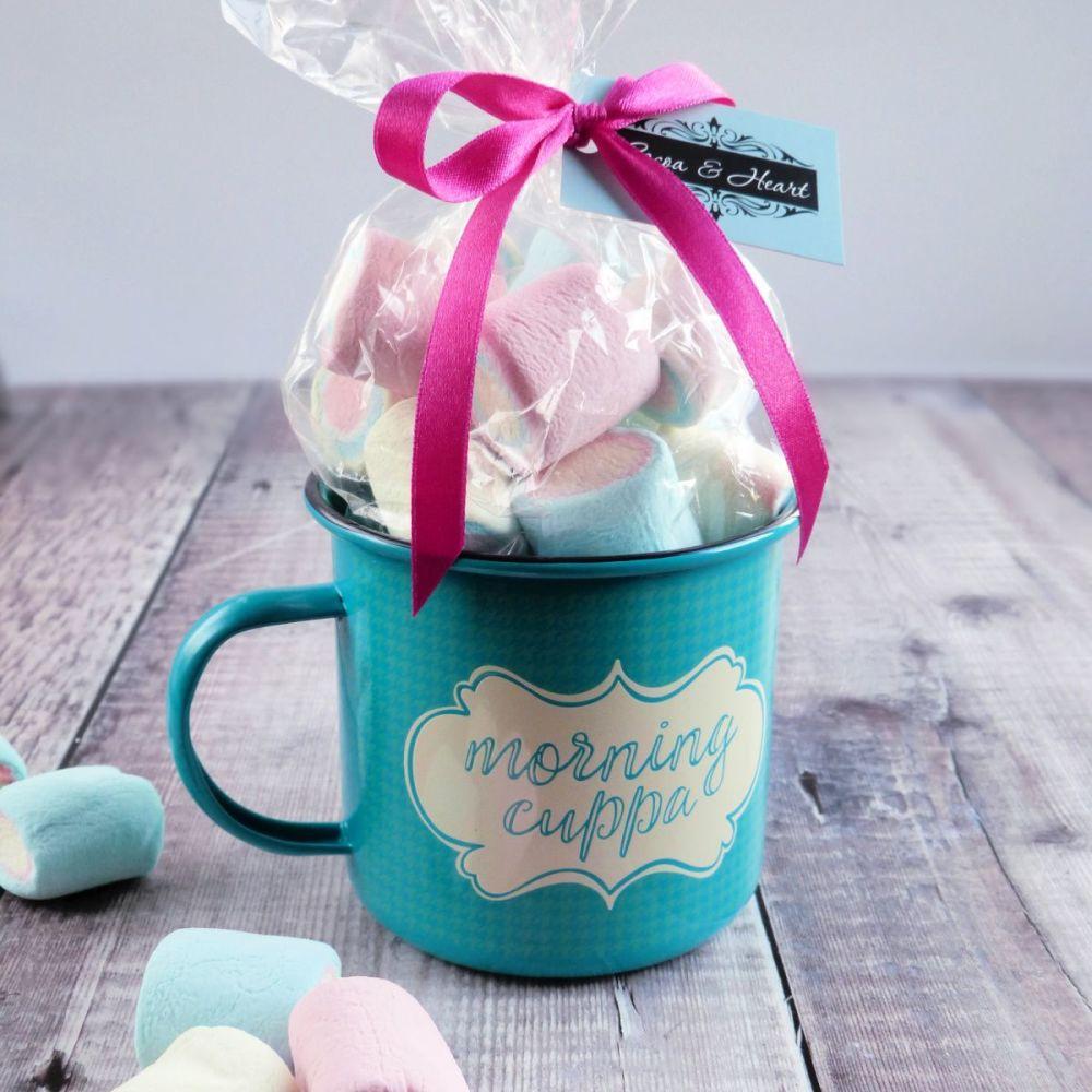 'Morning Cuppa' Hot Chocolate Mug Gift Set