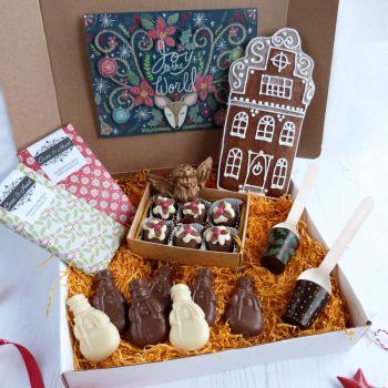 Christmas Chocolate & Gingerbread Gift Box