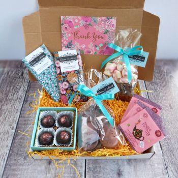 Chocolate hug in a box gift