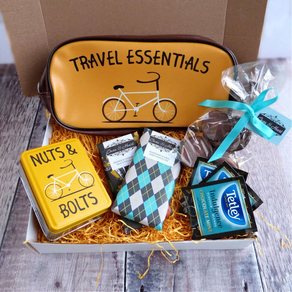 Travel Essentials Chocolate Gift Box