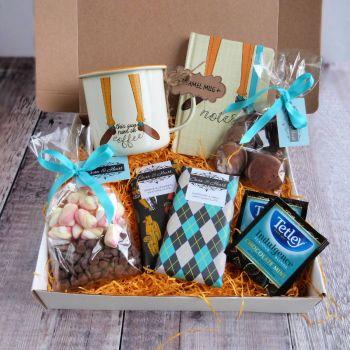 This Guy Runs on Coffee Chocolate Gift Box