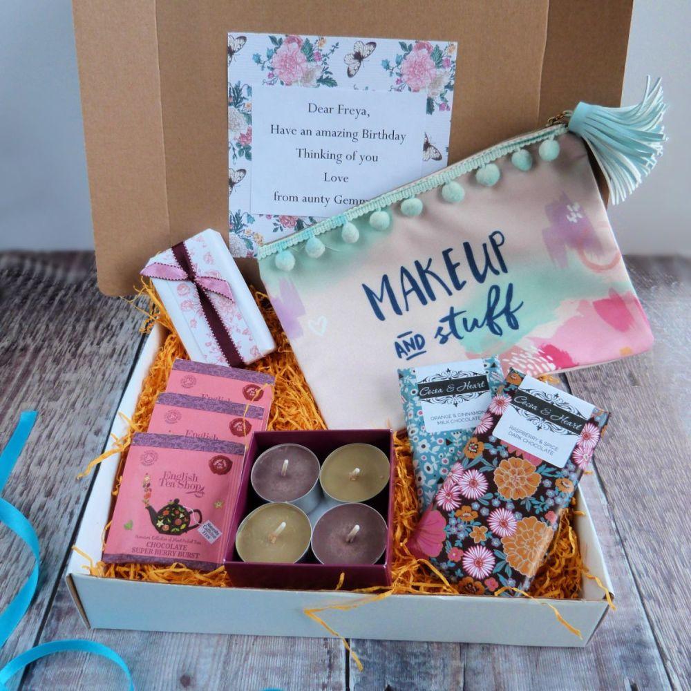 Chocolate pamper gift box