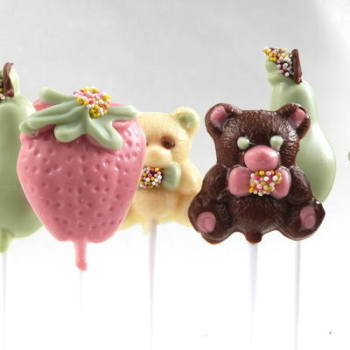 Handmade Chocolate Lollipops (5)