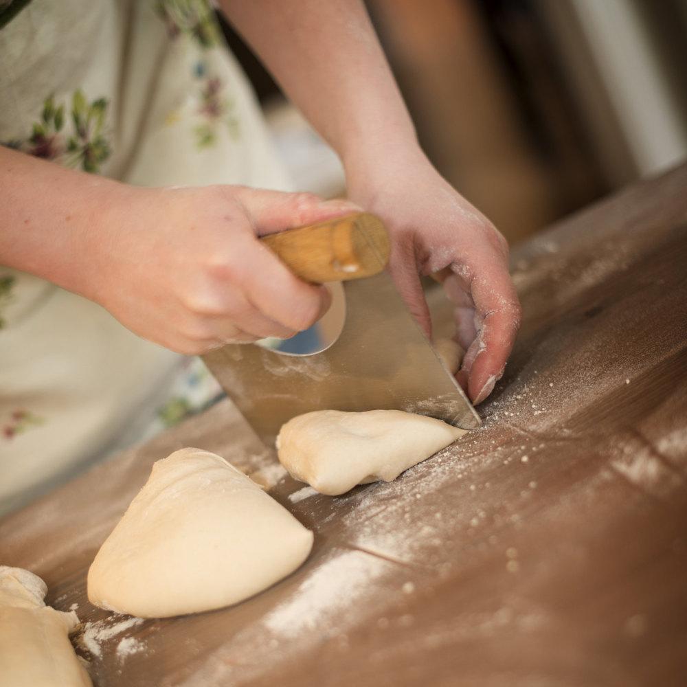 Learning the basics of bread baking