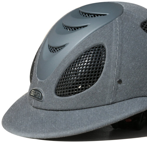 GPA Speed' Air Polo 2X Fabric Covered Riding Helmet - Anthracite (£375.00 E
