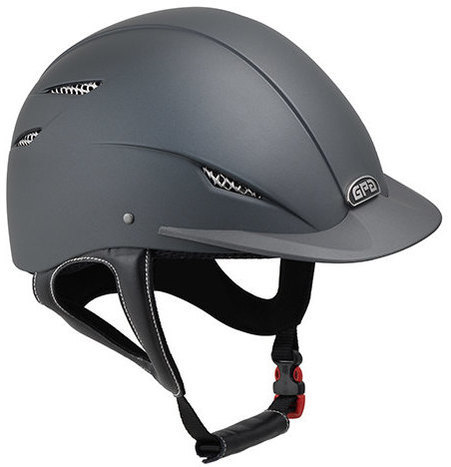 GPA Easy 2X Harness Riding Helmet - Grey (£200.00 Exc VAT & £240.00 Inc VAT