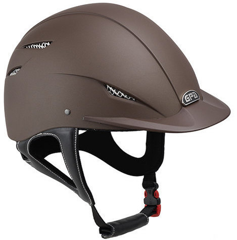 GPA Easy 2X Harness Riding Helmet - Brown (£200.00 Exc VAT & £240.00 Inc VA