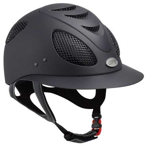 GPA First Lady 2X Riding Helmet - Black (£354.17 Exc VAT & £425 Inc VAT)
