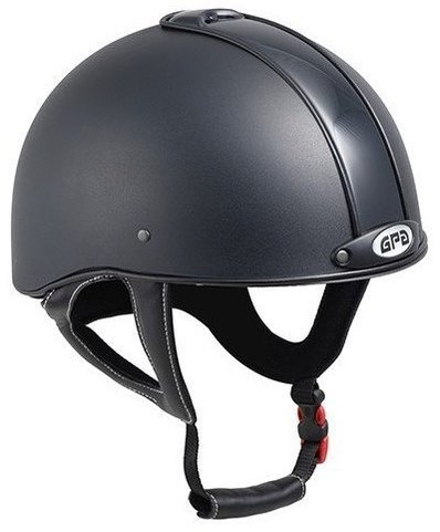 GPA Jock Up 3 Riding Helmet - Black Tone on Tone (£165.83 Exc VAT & £199.00