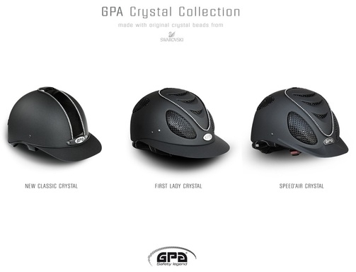 New Crystal Helmets