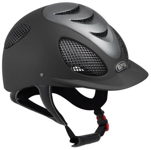 GPA Speed' Air Evolution 2X Riding Helmet - Black/Titane (£332.50 Exc VAT &
