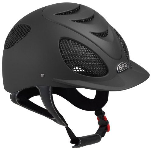 GPA Speed' Air Evolution 2X Riding Helmet - Black (£332.50 Exc VAT & £399 I