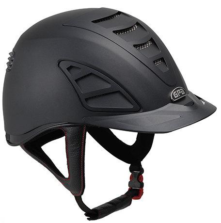 GPA Speed Air 4S REDLINE Collection Riding Helmet - Black/Black (£375.00 Ex