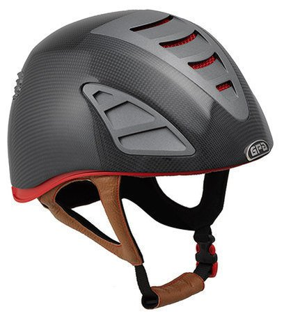 Jock Up One 4S Eventing Carbon Riding Helmet - Matt or Shiny Carbon With Ch