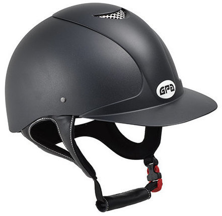 GPA Jimpi 2X Harness Riding Helmet - Black/Black (£165.83 Exc VAT & £199.00