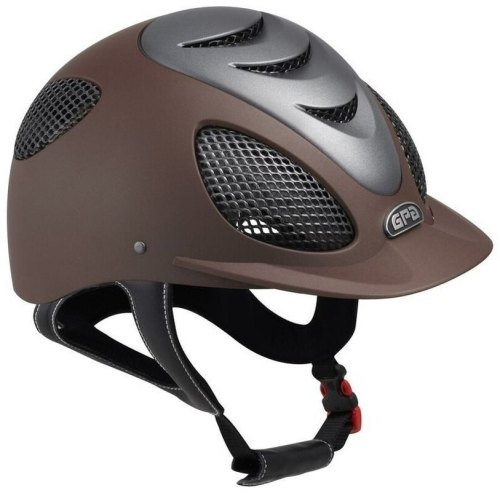 GPA Speed' Air Evolution 2X Riding Helmet - Brown/Titane (£365.83 Exc VAT &