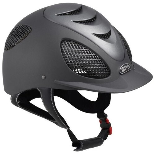 GPA Speed' Air Evolution 2X Riding Helmet - Grey/Titane (£365.83 Exc VAT &