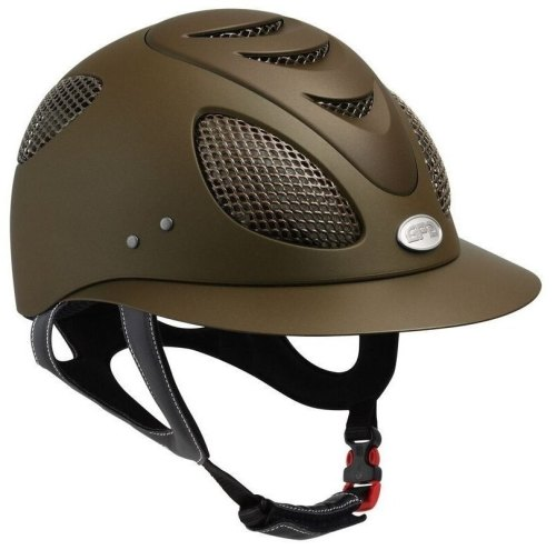 GPA First Lady 2X Riding Helmet - Brown (£383.33 Exc VAT & £460.00 Inc VAT)