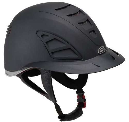 GPA Speed Air First Lady 4S REDLINE Collection Riding Helmet - Black/Grey (