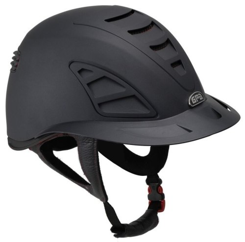 GPA Speed Air First Lady 4S REDLINE Collection Riding Helmet - Black/Black