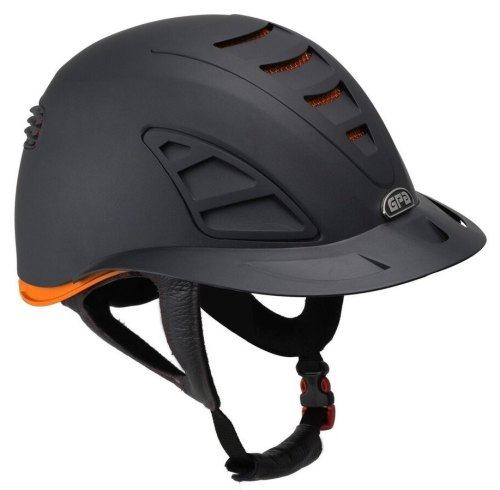 GPA Speed Air First Lady 4S REDLINE Collection Riding Helmet - Black/Orange