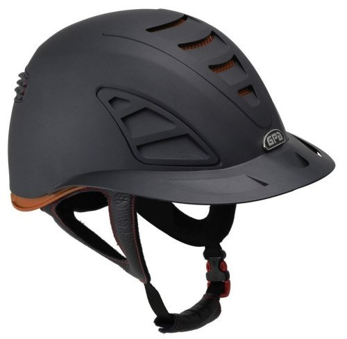 GPA Speed Air First Lady 4S REDLINE Collection Riding Helmet - Black/Brown