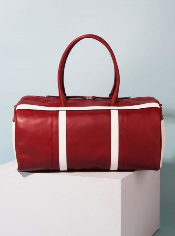 GPA 100% Leather Bag by ADI - Red - Price (£829.17 Exc VAT & £995.00 Inc VA