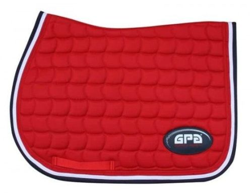 GPA Saddlepad - Red (Price £54.17 Exc VAT & £65.00 Inc VAT)