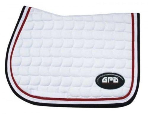 GPA Saddlepad - White (Price £54.17 Exc VAT & £65.00 Inc VAT)