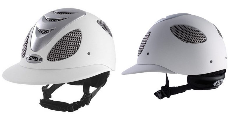 polo helmet white