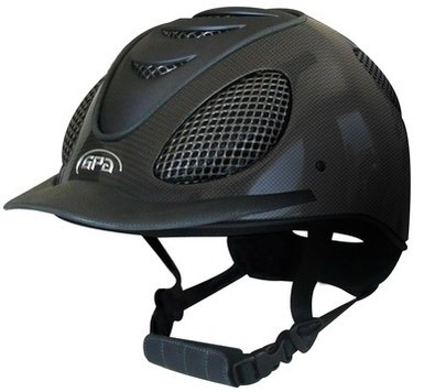 GPA Speed Air Carbon Riding Helmet - Shiny Carbon With 4 Colour Options