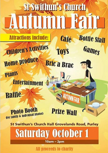 St Swithuns Autumn Fair 2016