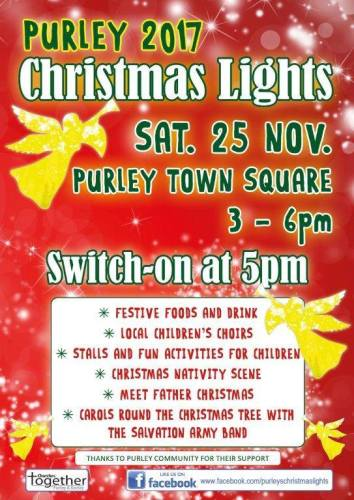 Purley Christmas Lights Switch-On 2017
