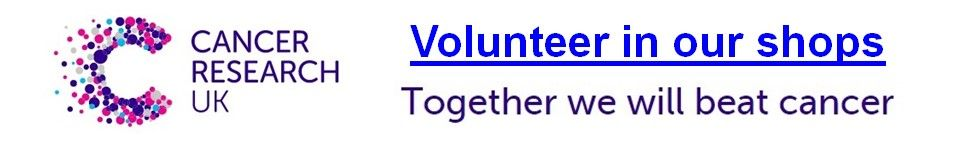 Cancer Research UK - Volunteer in our shops