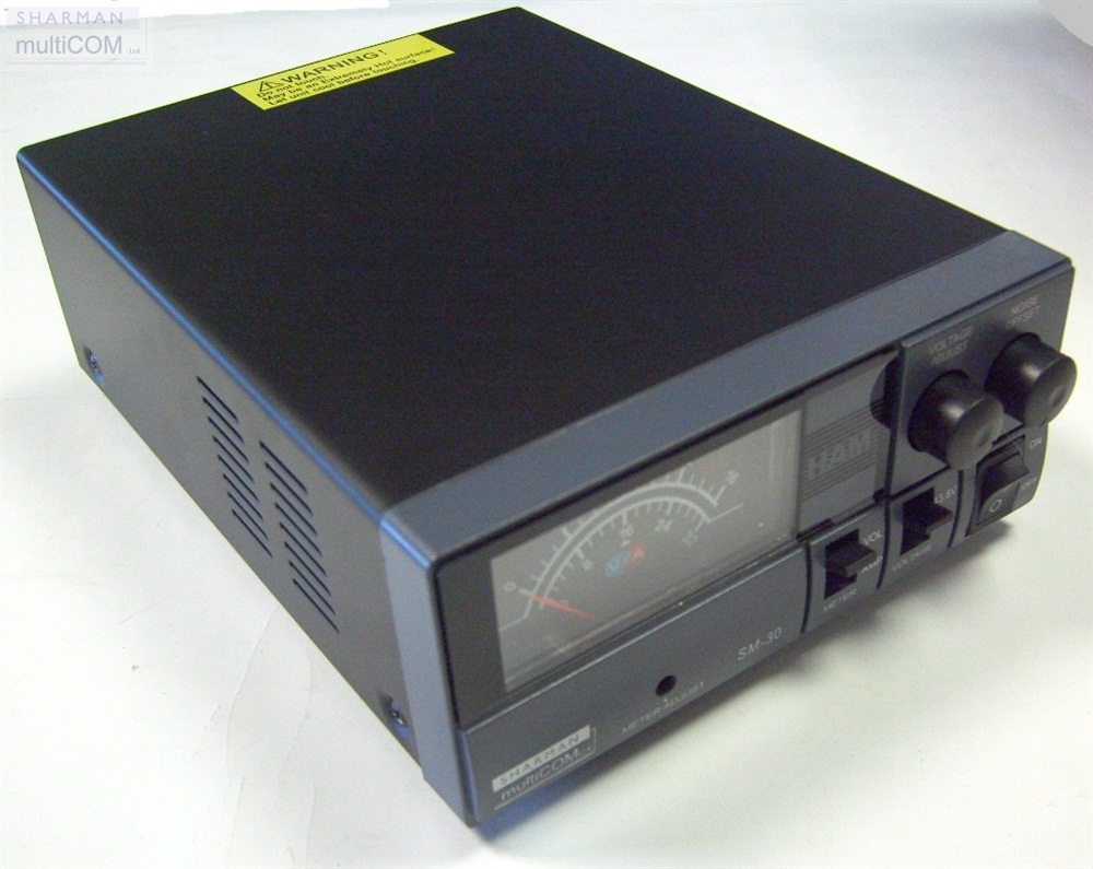 SHARMAN SM-30 - SWITCH MODE 30AMP POWER SUPPLY