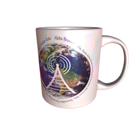 Nato Alphabet Mug With Call Sign