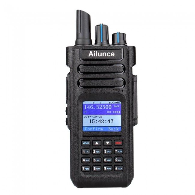 Ailunce (Retevis) HD1 Dual Band DMR Amateur Digital Radio