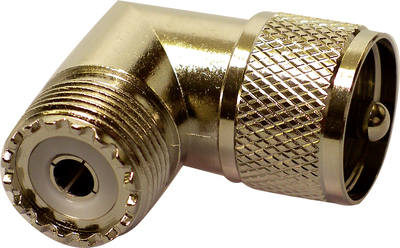 L CONNECTOR PL259/SO239