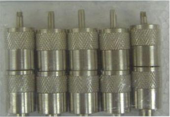 PL259 MALE UHF PLUG 6mm 10 PK