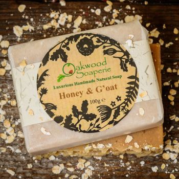 Honey and G'oat handmade soap