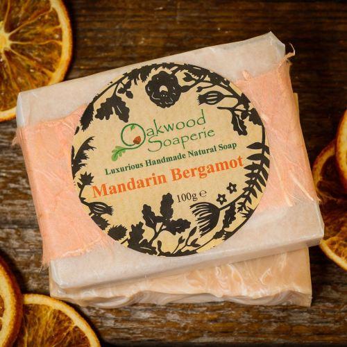 Mandarin Bergamot soap