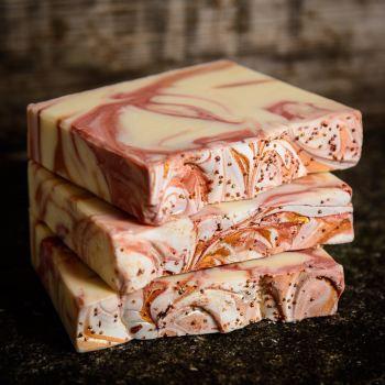 SALE - Sweet Orange Floral Handmade Soap