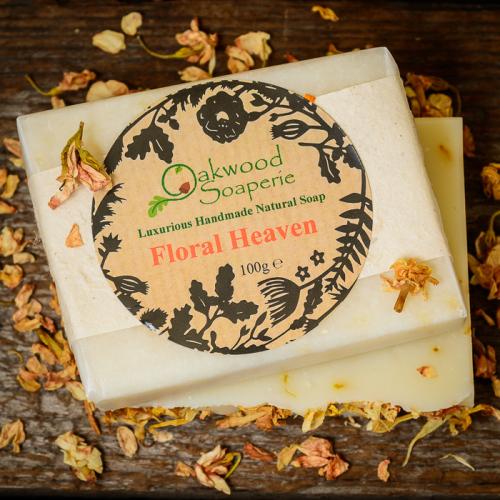 Floral Heaven Handmade Soap