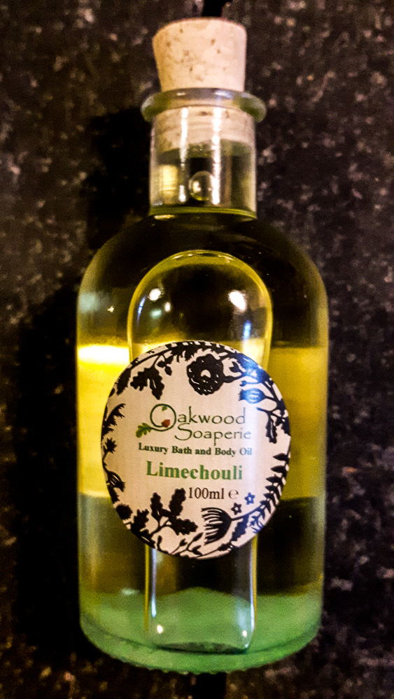Limechouli Bath, Body and Massage Oil